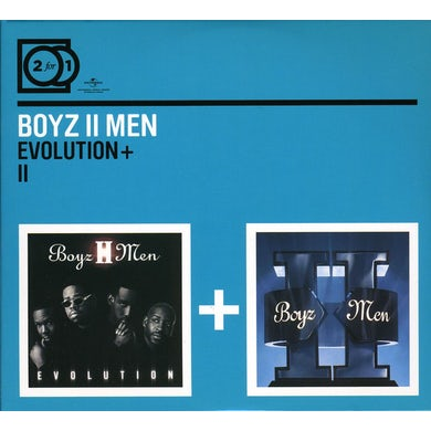 Boyz II Men EVOLUTION/II CD