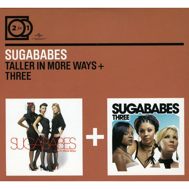 Sugababes TALLER IN MORE WAYS/THREE CD