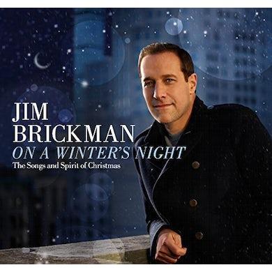 Jim Brickman ON A WINTER'S NIGHT: SONGS & SPIRIT OF CHRISTMAS CD