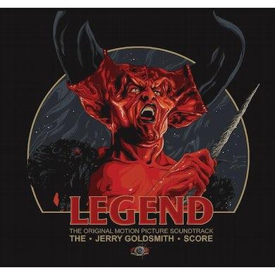 Jerry Goldsmith LEGEND / Original Soundtrack Vinyl Record