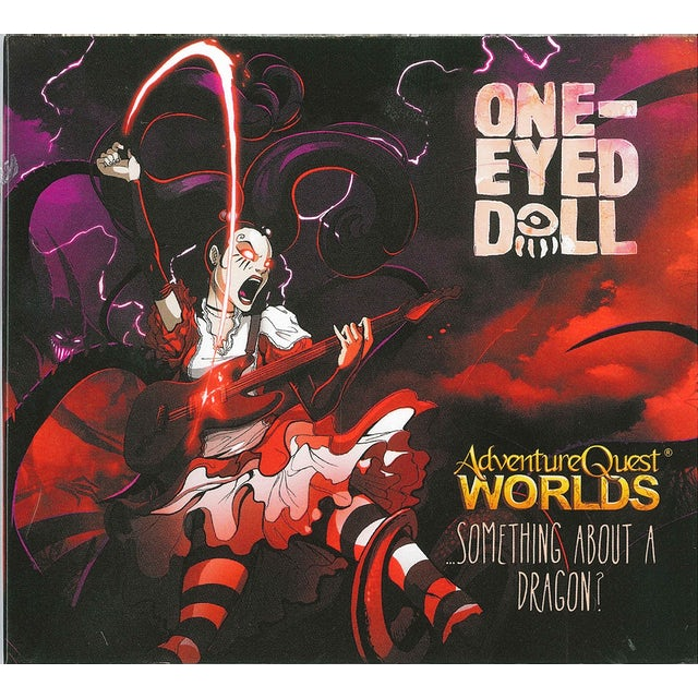One-Eyed Doll ADVENTURE QUEST WORLD'S SOMETHING ABOUT A DRAGON CD