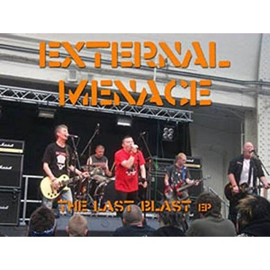 External Menace LAST BLAST CD