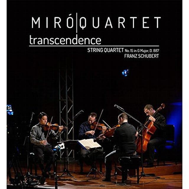 Miro Quartet TRANSCENDENCE CD