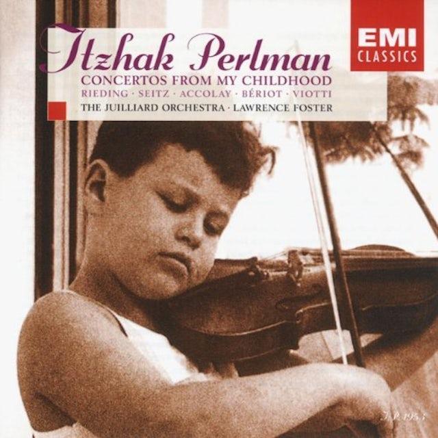 Itzhak Perlman CONCERTOS FROM MY CHILDHOOD CD