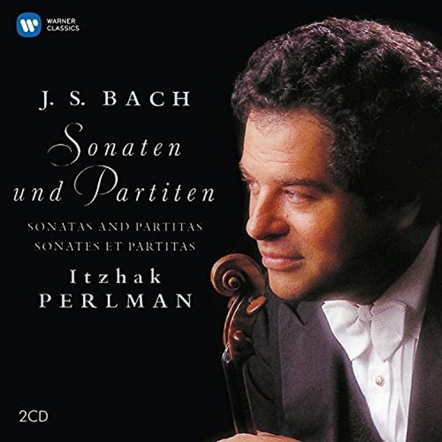 Itzhak Perlman BACH JS: COMPLETE SONATAS & PARTITAS CD
