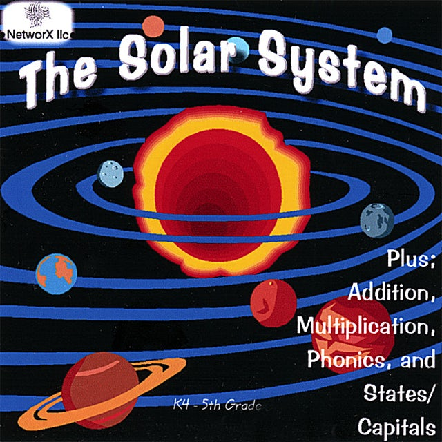 Solar System PLUS: ADDITION RAP & MULTIPLICATION SONG & PHONICS CD