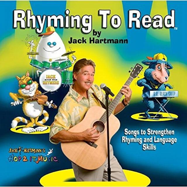 Jack Hartmann RHYMING TO READ CD