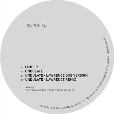 Recondite LIMBER / UNDULATE - LAWRENCE MIXES Vinyl Record