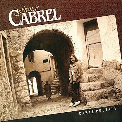 Francis Cabrel CARTE POSTALE CD