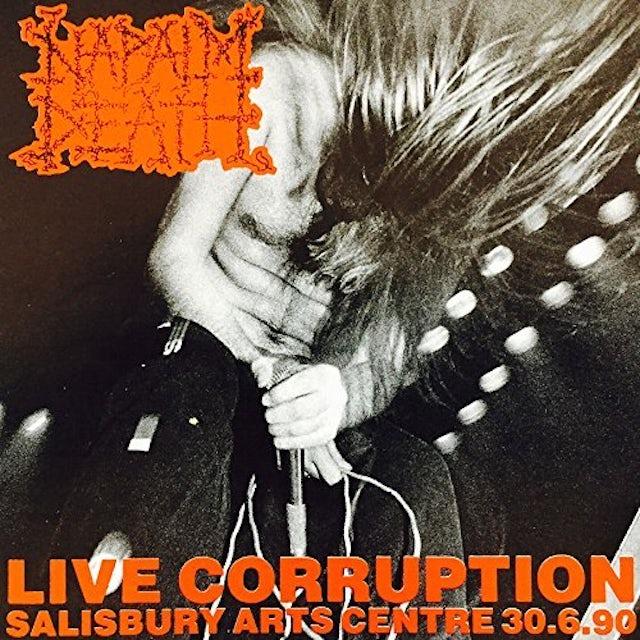 Napalm Death LIVE CORRUPTION Vinyl Record