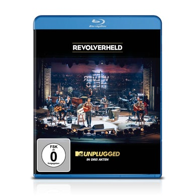 Revolverheld MTV UNPLUGGED IN DREI AKTEN Blu-ray