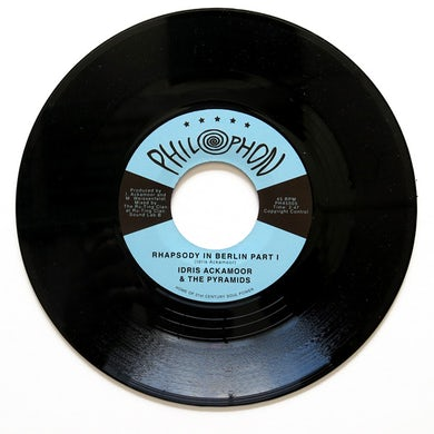 Idris Ackamoor & The Pyramids RHAPSODY IN BERLIN PART 1 / PART 2 Vinyl Record