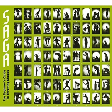 Saga THE BEGINNER'S GUIDE TO THROWING SHAPES CD