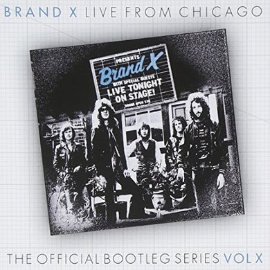 Brand X LIVE FROM CHICAGO 1978 CD