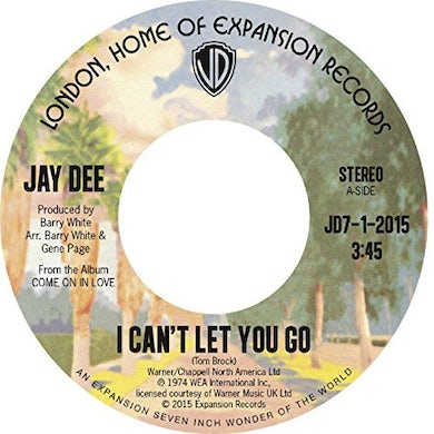 J Dilla I CAN'T LET YOU GO / COME ON IN LOVE Vinyl Record