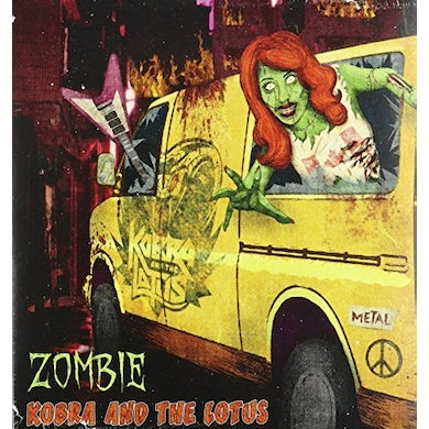 Kobra And The Lotus ZOMBIE / REMEMBER ME Vinyl Record