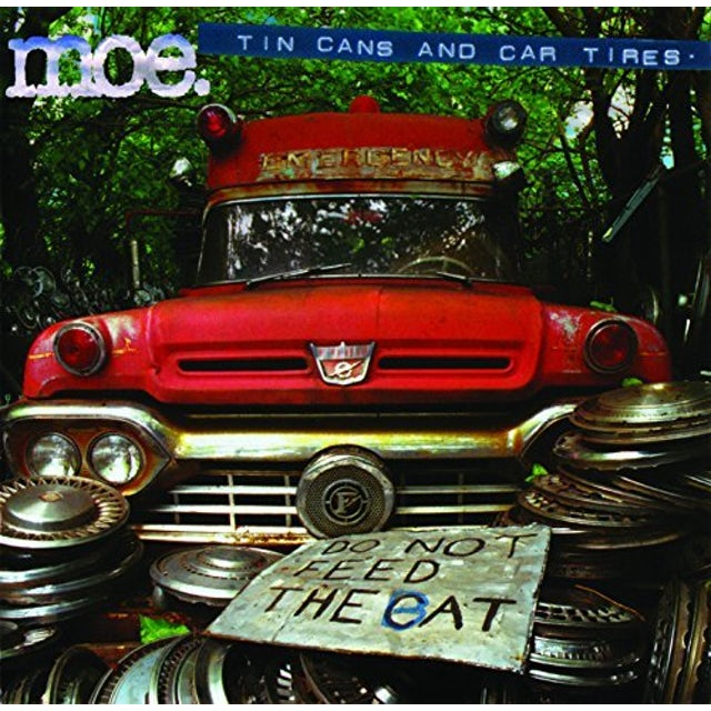 moe. TIN CANS & CAR TIRES Vinyl Record