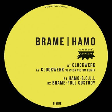 Brame & Hamo CLOCKWERK Vinyl Record