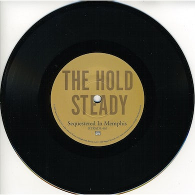 The Hold Steady SEQUESTERED IN MEMPHIS Vinyl Record - UK Release
