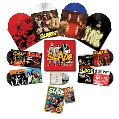 When Slade Rocked the World - Deluxe Edition Colored Vinyl Box Set