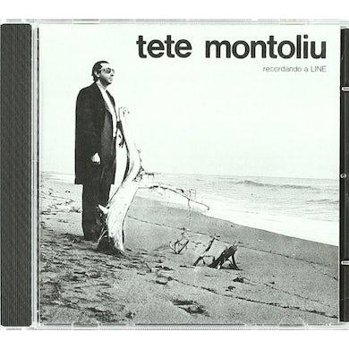 Tete Montoliu RECORDANDO A LINE CD