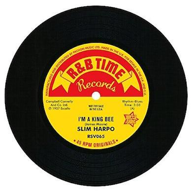 Slim Harpo I'M A KING BEE/I GOT LOVE IF YOU WANT IT Vinyl Record