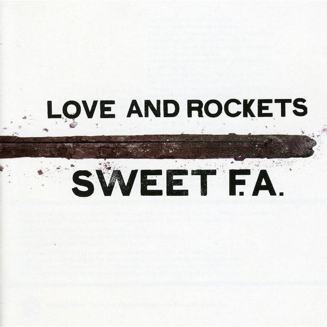 Love & Rockets SWEET F.A. CD