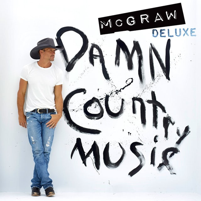 Tim McGraw DAMN COUNTRY MUSIC CD