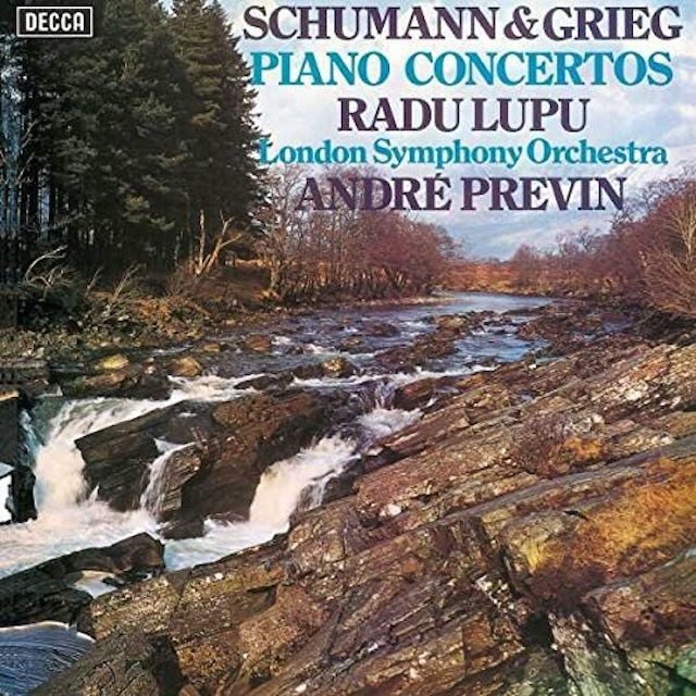 LUPU / PREVIN / LONDON SYMPHONY ORCHESTRA SCHUMANN & GRIEG PIANO CONCERTOS Vinyl Record