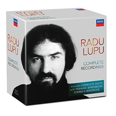 Radu Lupu COMPLETE RECORDINGS CD