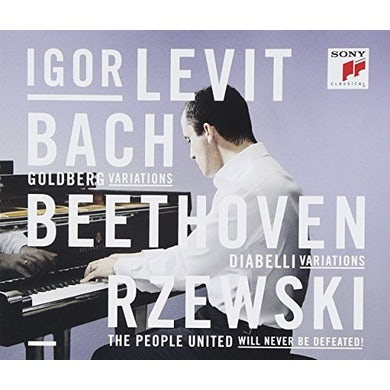 Igor Levit BACH. BEETHOVEN. RZEWSKI CD