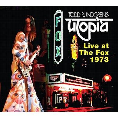 Todd Rundgren LIVE AT THE FOX 1973 (UTOPIA) CD