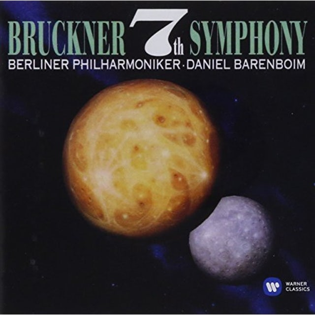 Daniel Barenboim BRUCKNER: SYMPHONY 7 CD