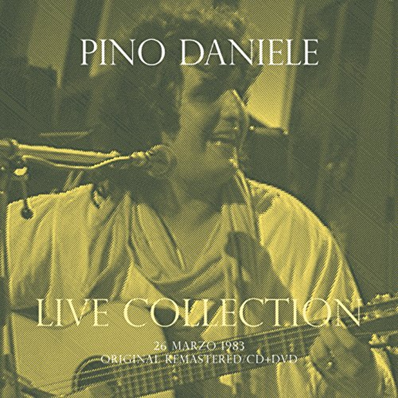Daniele Pino CONCERTO LIVE AT RSI (26 MARZO 1983) - CD+DVD DIGI CD