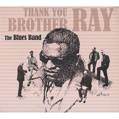 BLUES BAND THANK YOU BROTHER RAY CD