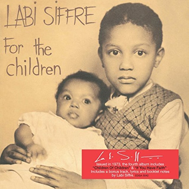 Labi Siffre FOR THE CHILDREN CD