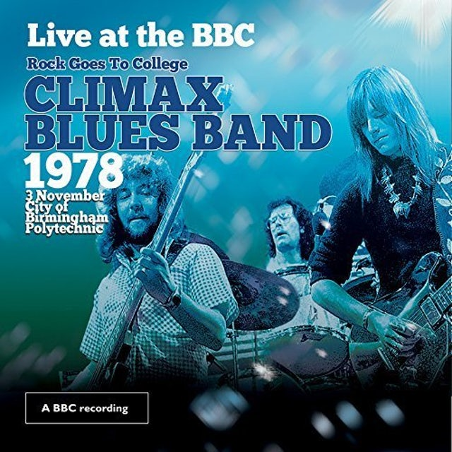 Climax Blues Band LIVE AT THE BBC CD