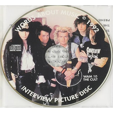 Cult 1992 INTERVIEW PICTURE DISC CD
