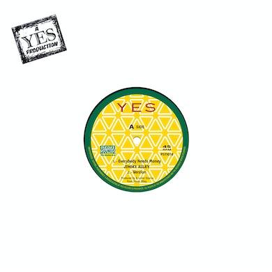 Jimmy Riley EVERYBODY NEEDS MONEY / REGGAE MUSIC Vinyl Record