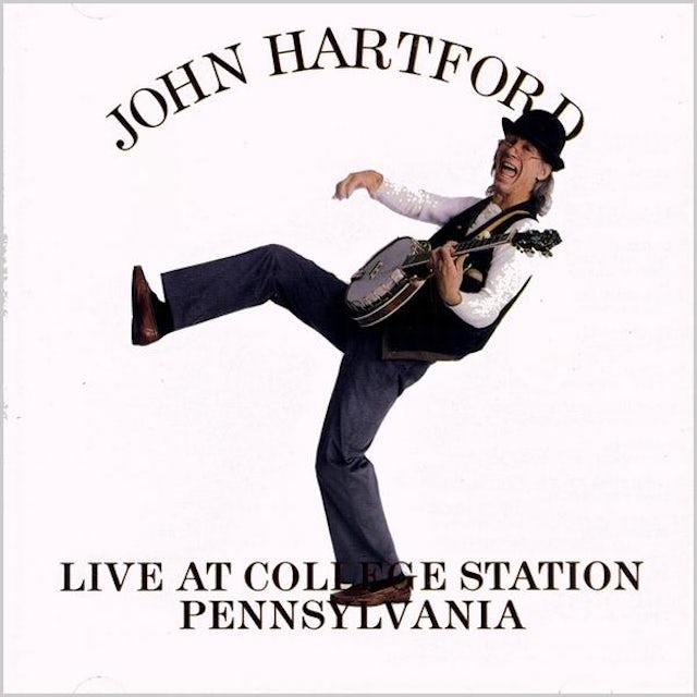 John Hartford LIVE AT COLLEGE STATION PENNSYLVANIA CD