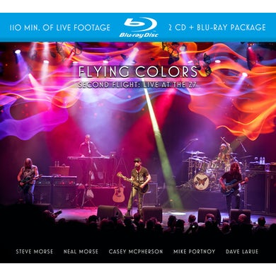 Flying Colors SECOND FLIGHT: LIVE AT THE Z7 CD