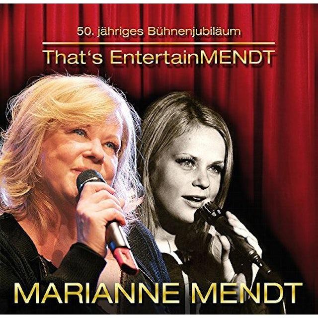 Marianne Mendt THAT'S ENTERTAINMENDT CD