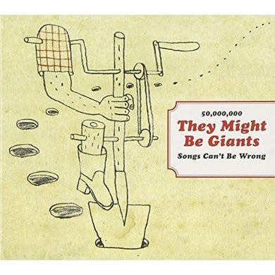 50 MILLION THEY MIGHT BE GIANTS SONGS CAN'T BE CD