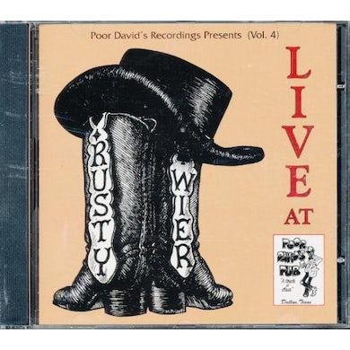 Rusty Weir LIVE AT POOR DAVID'S PUB CD