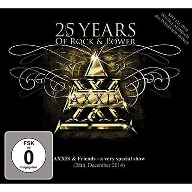 Axxis 25 YEARS OF ROCK & POWER CD