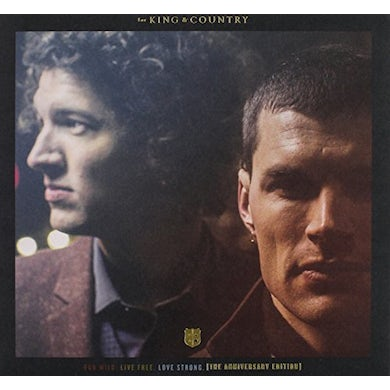 for KING & COUNTRY RUN WILD LIVE FREE LOVE STRONG (AMERICAN EDITION) CD