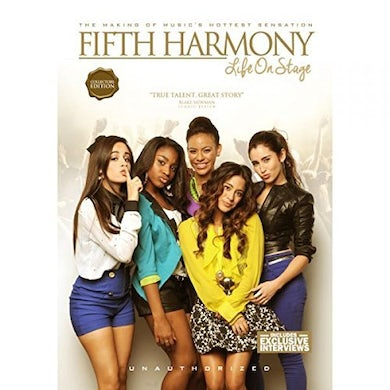 FIFTH HARMONY LIFE ON STAGE DVD