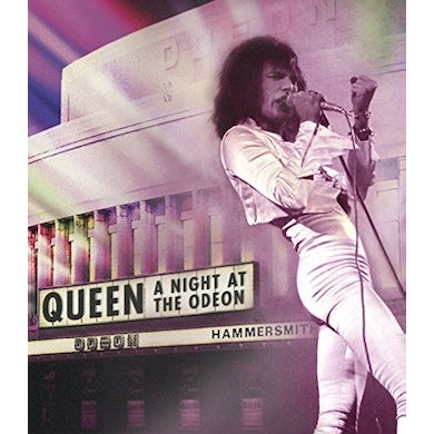 Queen NIGHT AT THE ODEON DVD