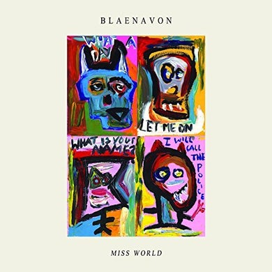 Blaenavon MISS WORLD EP Vinyl Record