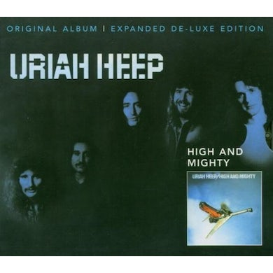 Uriah Heep HIGH AND MIGHTY Vinyl Record